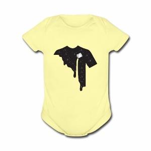 PaintTheGalaxy - Short Sleeve Baby Bodysuit