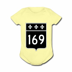 Highway 169 - Short Sleeve Baby Bodysuit