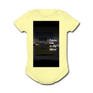 Michael mell - Short Sleeve Baby Bodysuit