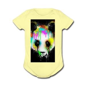pand paint - Short Sleeve Baby Bodysuit