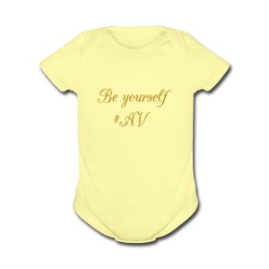 cooltext261399940662614 - Short Sleeve Baby Bodysuit