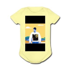 CED458BC 8577 4268 B7C3 1C5F4DFBF04C - Short Sleeve Baby Bodysuit