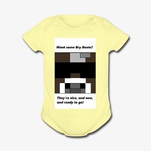 shirt - Short Sleeve Baby Bodysuit