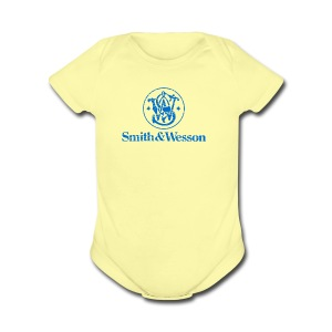 Smith & Wesson (S&W) - Short Sleeve Baby Bodysuit