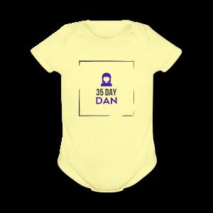 35DD Gal - Short Sleeve Baby Bodysuit