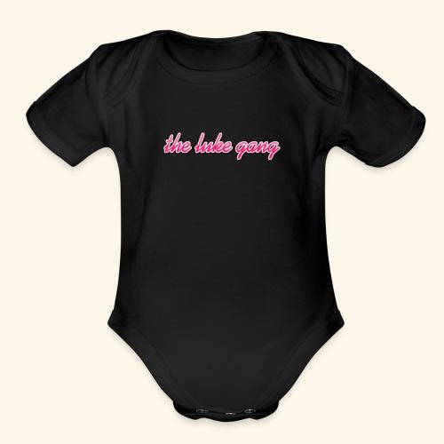 The luke gang - Organic Short Sleeve Baby Bodysuit