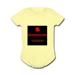 swagonfleak12 - Short Sleeve Baby Bodysuit