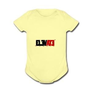 ELEVATE - Short Sleeve Baby Bodysuit