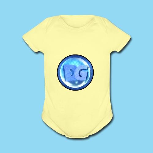 Dego Logo Oficial - Organic Short Sleeve Baby Bodysuit