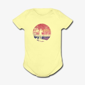 Lake Winnipesaukee Paddle Board Tee Shirt - Short Sleeve Baby Bodysuit