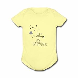 CHASiN STARZ - Short Sleeve Baby Bodysuit