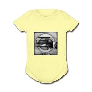 hoodie - Short Sleeve Baby Bodysuit