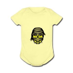 The Mummy s Revenge - Short Sleeve Baby Bodysuit