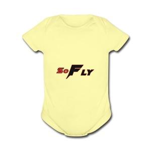 SoFLY - Short Sleeve Baby Bodysuit