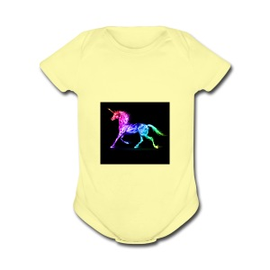 unnamed - Short Sleeve Baby Bodysuit
