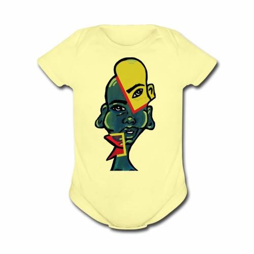 3 - Organic Short Sleeve Baby Bodysuit
