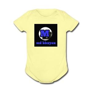 Md bhuyan - Short Sleeve Baby Bodysuit