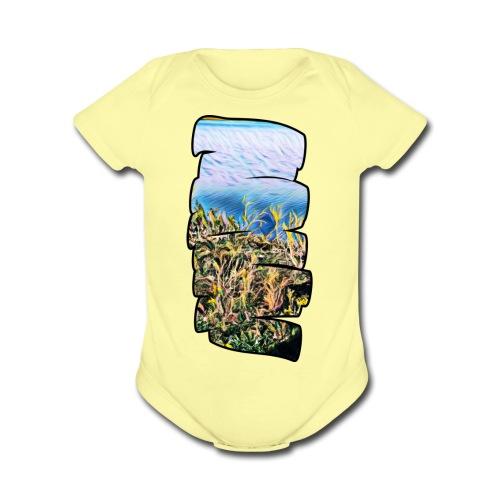 0834D9EF FDC1 4F57 B608 80F2A1A20684 - Organic Short Sleeve Baby Bodysuit