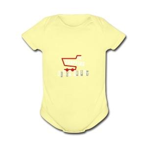 Go Shopping Is Black Friday - Short Sleeve Baby Bodysuit