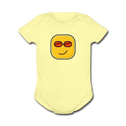 Lovely - Organic Short Sleeve Baby Bodysuit