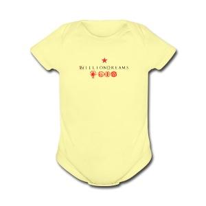 1milliondreams - Short Sleeve Baby Bodysuit