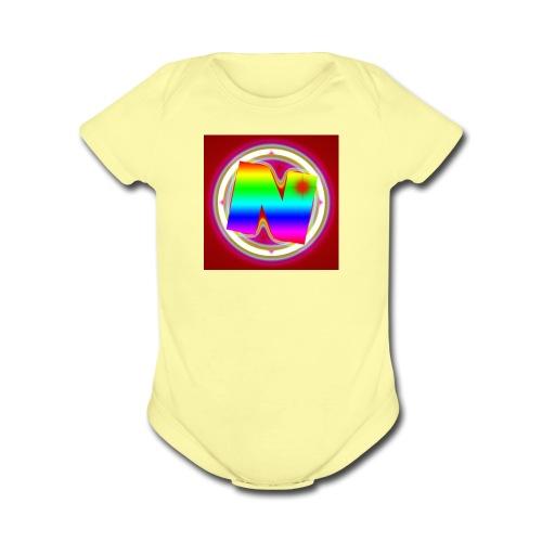 Nurvc - Organic Short Sleeve Baby Bodysuit