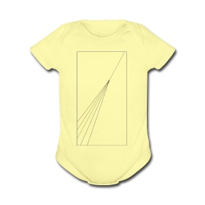 Light Subtlety - Short Sleeve Baby Bodysuit