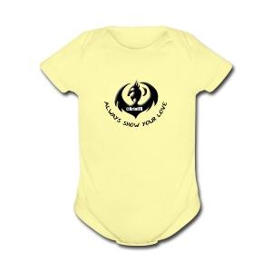 ArtofFD Logo - Short Sleeve Baby Bodysuit