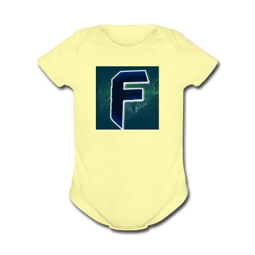 My New Logo Shirt - Organic Short Sleeve Baby Bodysuit