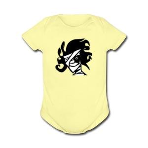 Chaos - Short Sleeve Baby Bodysuit