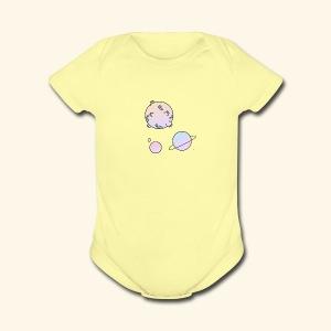Tiny Space - Short Sleeve Baby Bodysuit