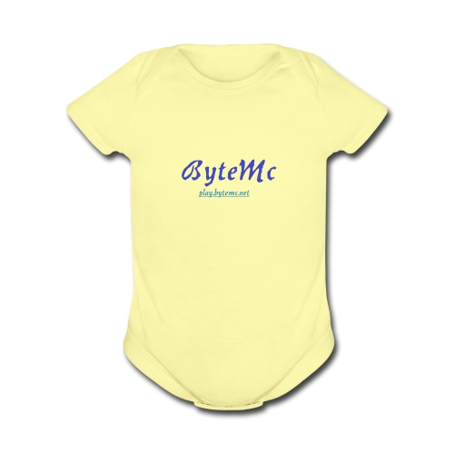 ByteMc Merch - Organic Short Sleeve Baby Bodysuit
