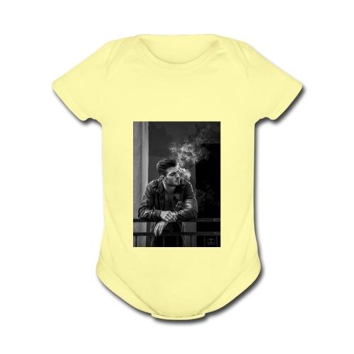 IMG_2879 - Organic Short Sleeve Baby Bodysuit