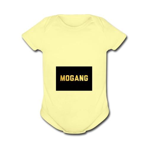 YT/Mr.motube MOGANG - Organic Short Sleeve Baby Bodysuit