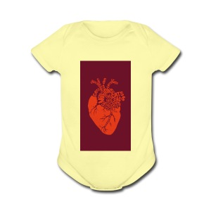 Catheart - Short Sleeve Baby Bodysuit
