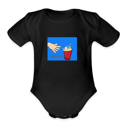 Jackschaefeer Babby Back - Organic Short Sleeve Baby Bodysuit
