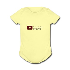 Dorfinyoutube Channel Merch - Short Sleeve Baby Bodysuit