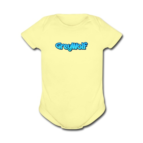 TEXT of GreyWolf - Organic Short Sleeve Baby Bodysuit