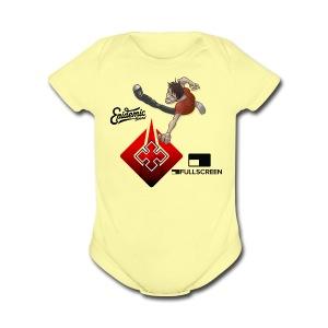 Tshirt By Kantus Salvaje - Short Sleeve Baby Bodysuit