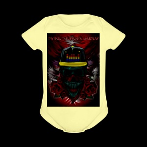 FlipFlap Nation - Short Sleeve Baby Bodysuit