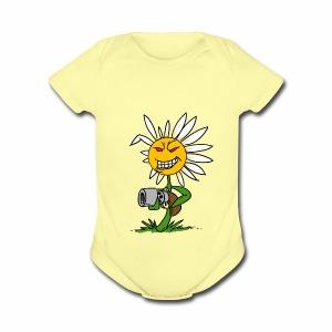 Killer Daisy - Short Sleeve Baby Bodysuit