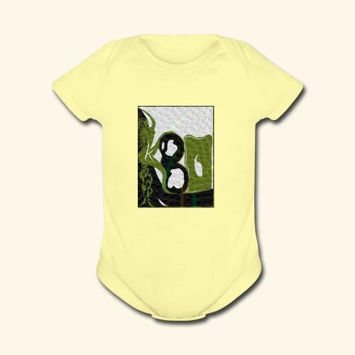 Woman - Organic Short Sleeve Baby Bodysuit