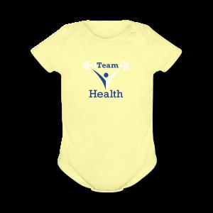 1TeamHealth - Short Sleeve Baby Bodysuit