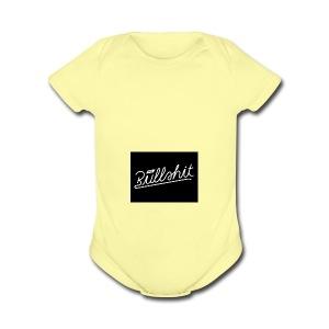 no bullshit - Short Sleeve Baby Bodysuit