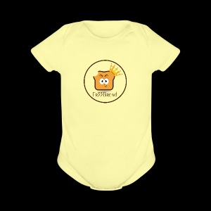 Fr33Bread Logo - Short Sleeve Baby Bodysuit