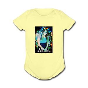 Carli Is TemperMental - Short Sleeve Baby Bodysuit