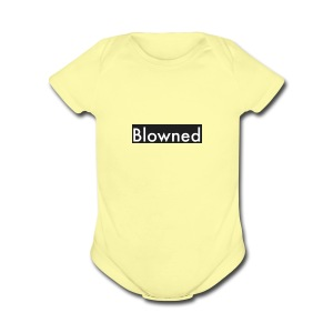 Blowned The Tee - Short Sleeve Baby Bodysuit