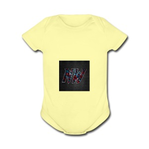 NWmaniac LOGO - Short Sleeve Baby Bodysuit