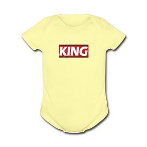 King phone case - Short Sleeve Baby Bodysuit