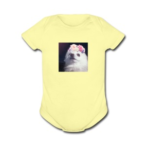 Doggo :3 - Short Sleeve Baby Bodysuit